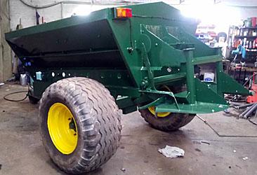 TranSpread 830 - Dales Agri Sales Agency