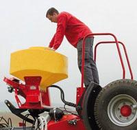 SMS Titan Seeder Roller seeding unit
