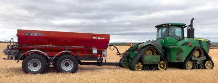 Agrispread AS2000 Range of lime spreaders and fertiliser spreaders